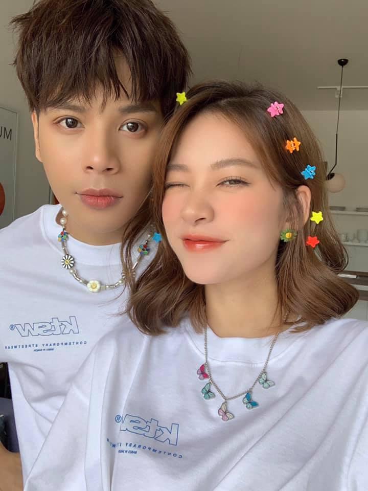 Trương Hoàng Mai Anh và Jaykii.