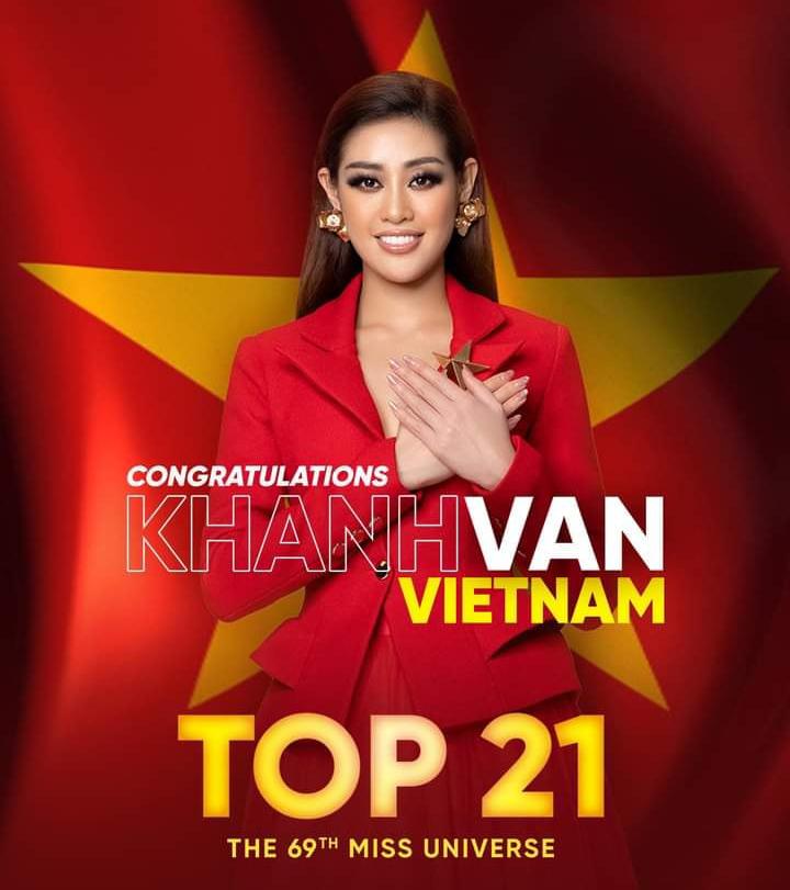 Khánh Vân tri ân người hâm mộ vì giúp cô có giải vote cao nhất lịch sử Miss Universe.