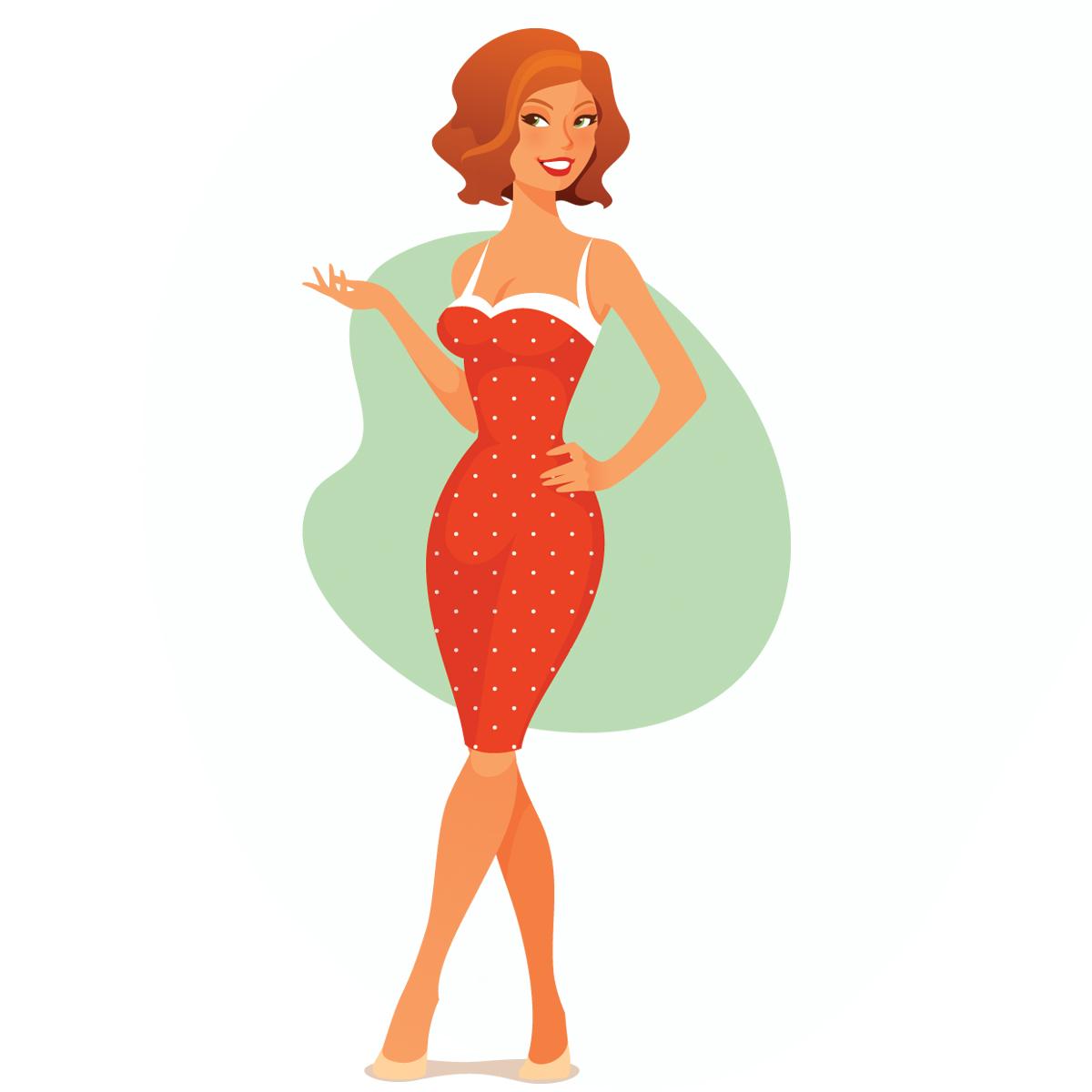 12 màu sắc trang phục tiết lộ tính cách bạn gái - 1