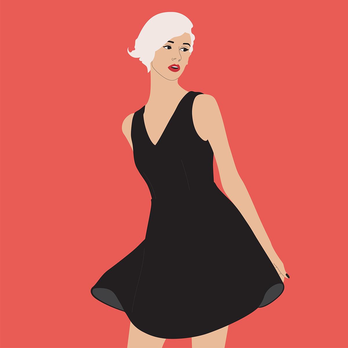 12 màu sắc trang phục tiết lộ tính cách bạn gái - 4