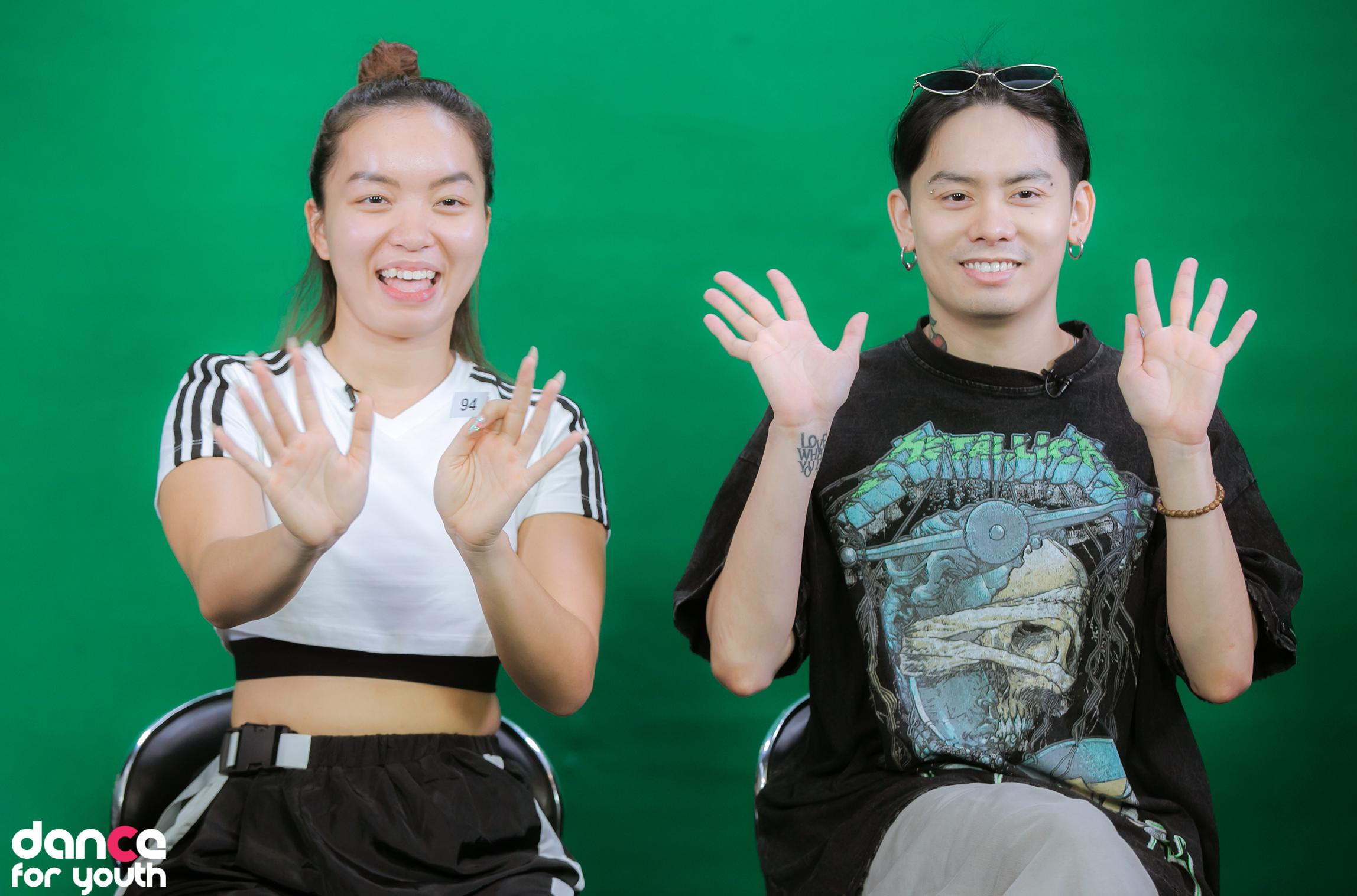 Đức Việt, giám khảo của cuộc thi Dance For Youth, khuyên các thí sinh sáng tạo, tự tin.