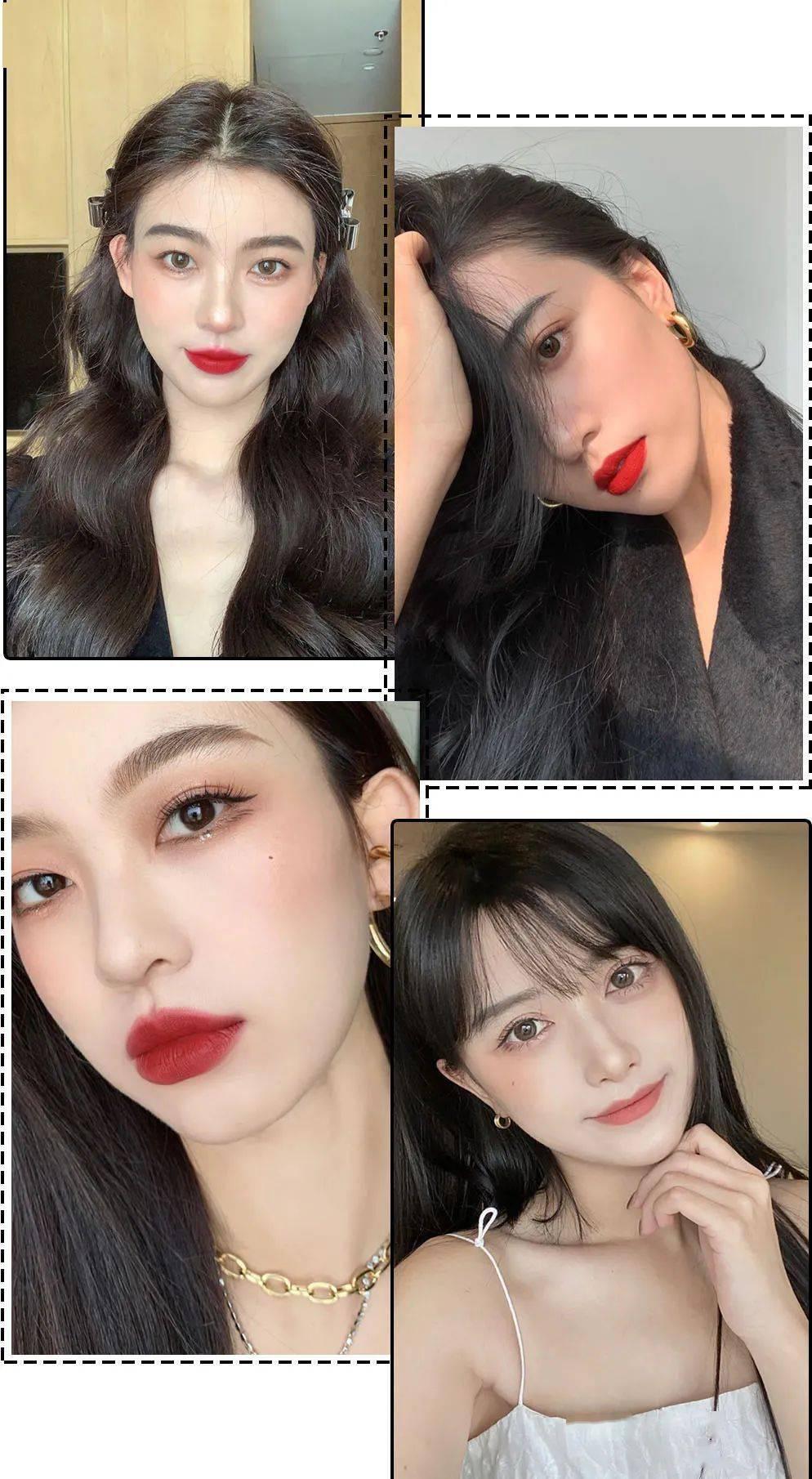 Với sự lăng xê rầm rộ của các hot girl TikTok, xu hướng trang điểm da trắng môi đỏ vừa sang chảnh, vừa trẻ trung này hứa hẹn sẽ còn lên ngôi thời gian tới.