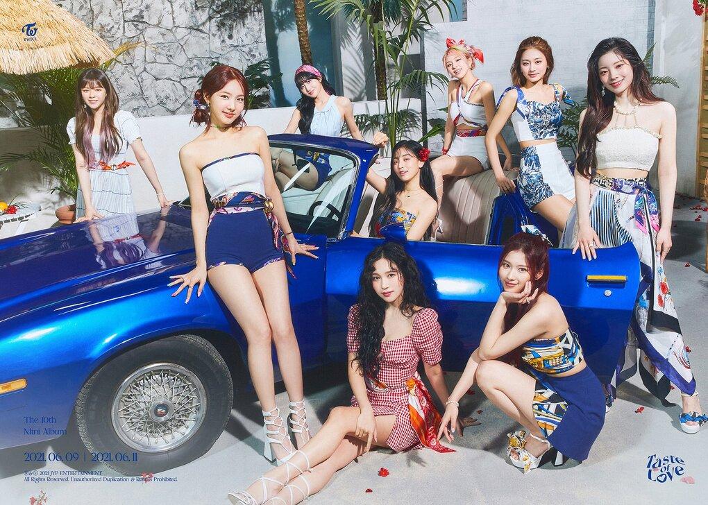 Twice phát hành MV Alcohol-Free. Đây là bài hát chủ đề thuộc mini-album thứ 10 Taste of Love.