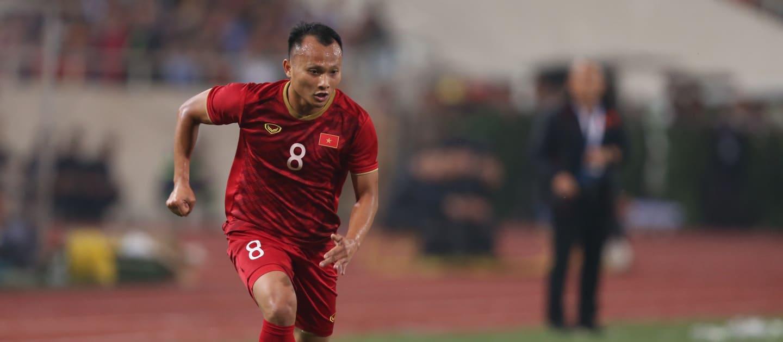 Nguyễn Trọng Hoàng trong bài phỏng vấn với FIFA.