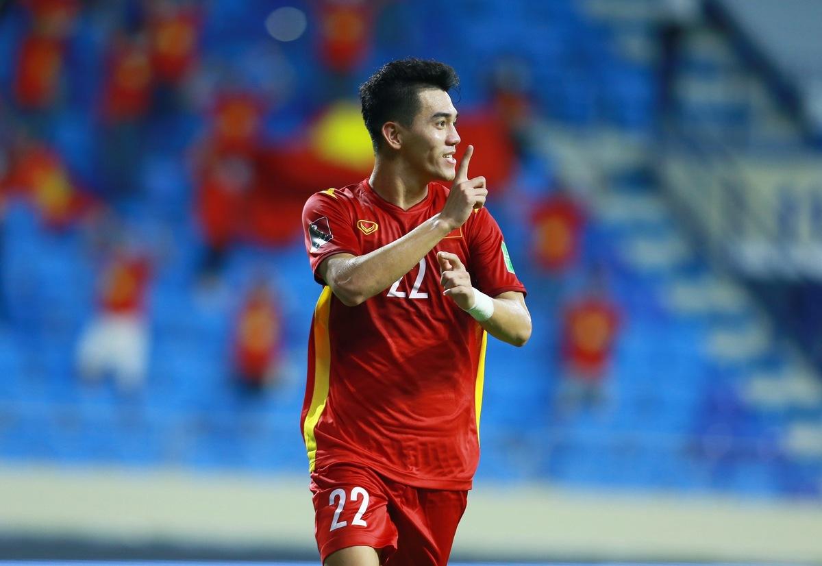 Tiến Linh đang có phong độ tốt tại giải đấu.