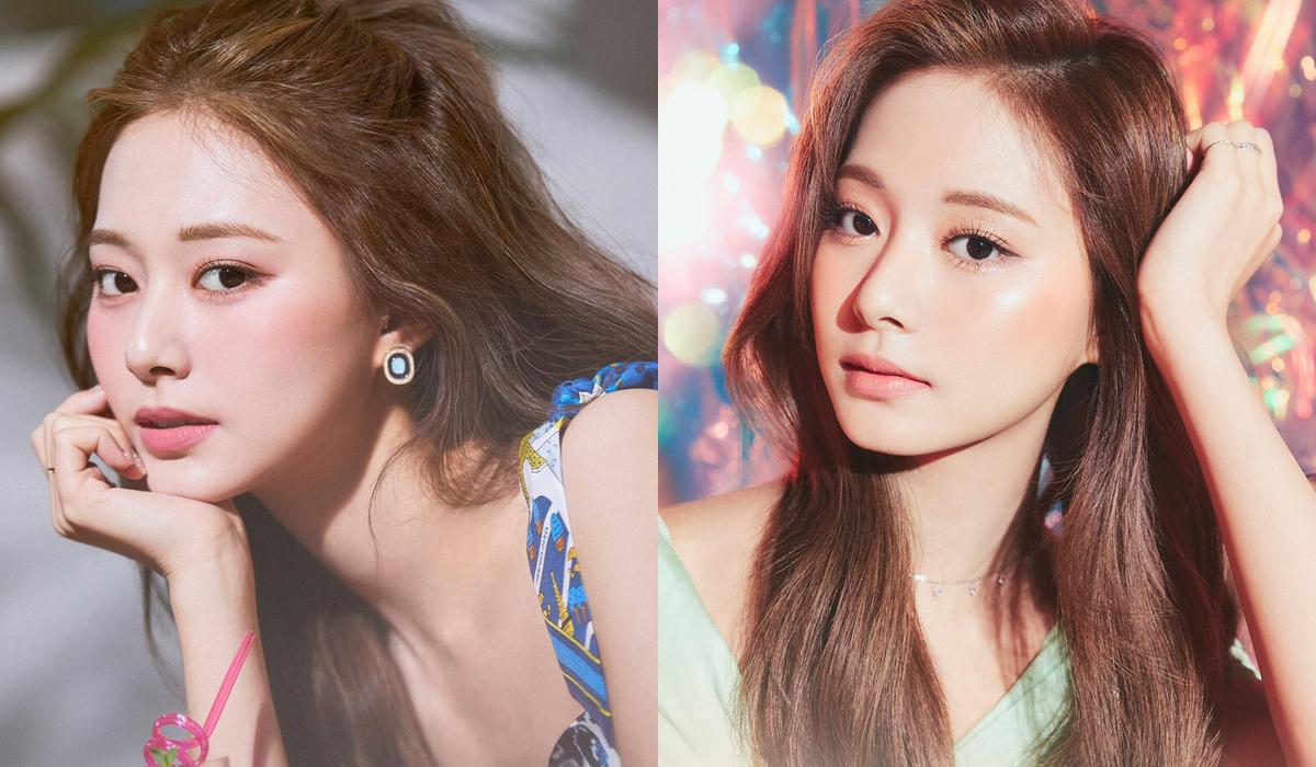 Dù hợp màu son đỏ đến vậy, nữ idol lại thường được các chuyên gia trang điểm cho tô màu son quá nhạt như hồng da, cam bợt. Dù vẫn xinh đẹp, Tzuyu bị dìm ít nhiều khi trang điểm quá nhẹ nhàng, thiếu điểm nhấn.