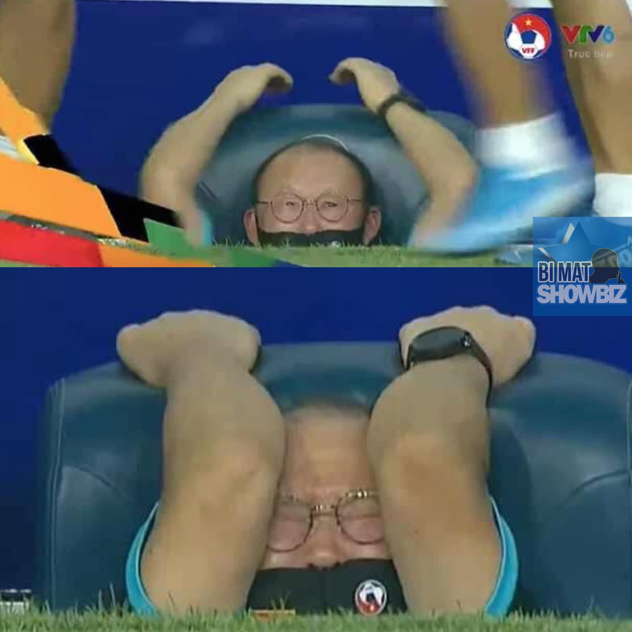 Mắt không thấy thì tim không đau phiên bản thầy Park.