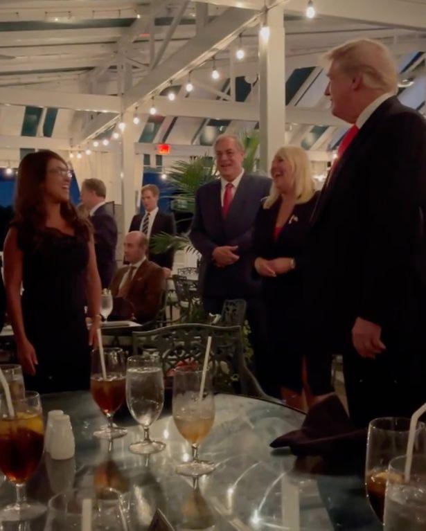 Sinh nhật của ông Trump được tổ chức ở New Jersey tối 14/6.