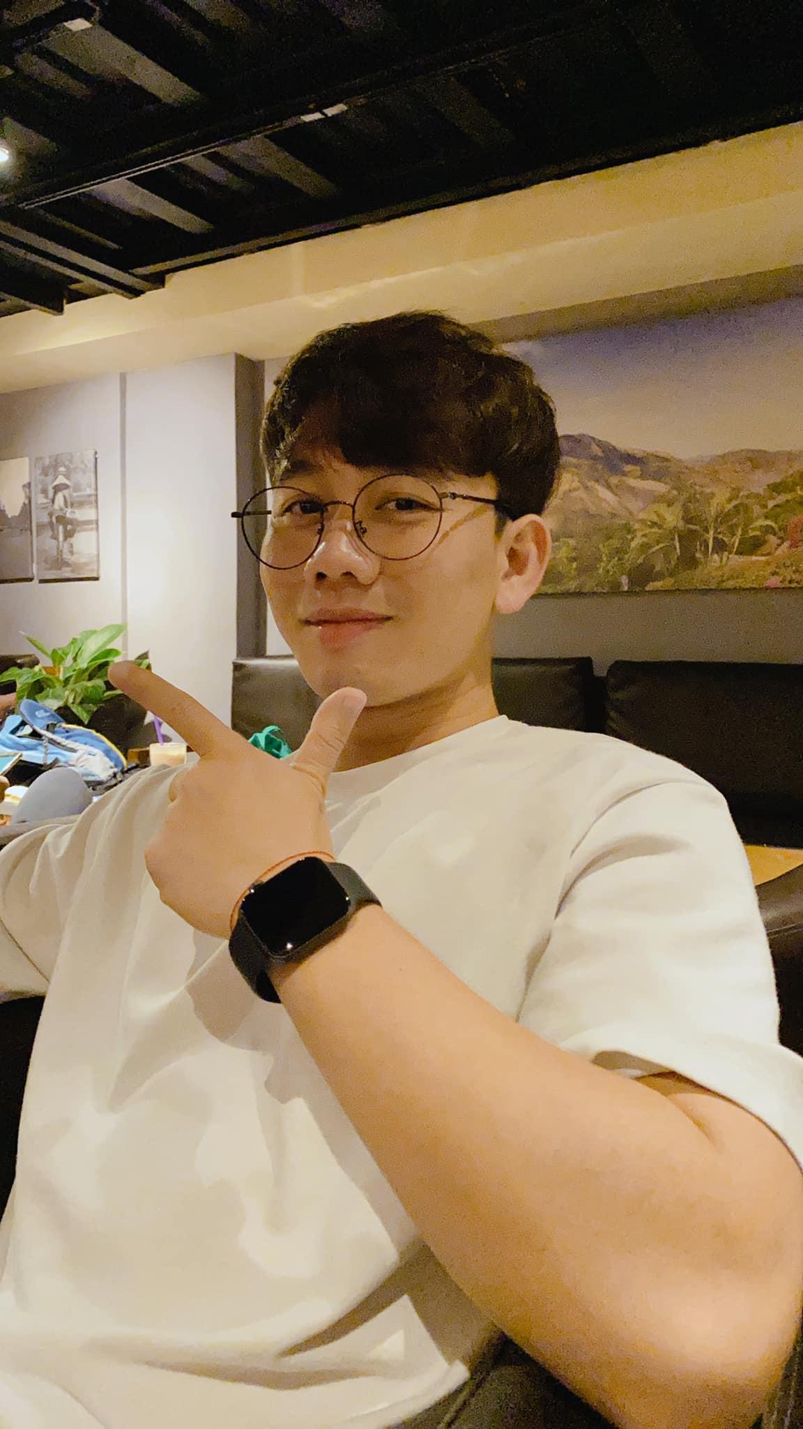 Hình ảnh đời thường baby, kute của chàng trai sinh năm 1995, quê Thái Bình.