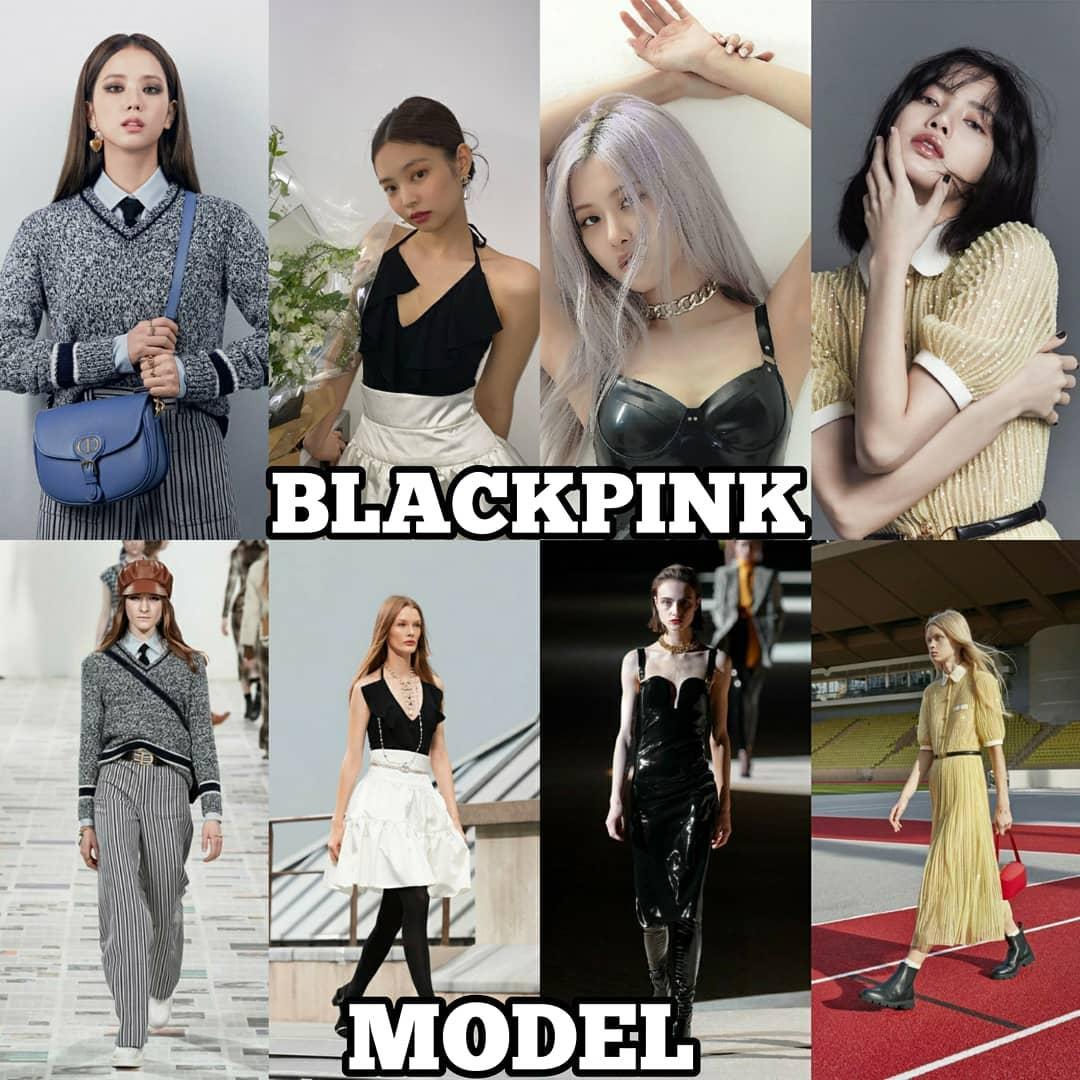 Không phải tự dưng là Black Pink trở thành cục cưng của các thương hiệu thời trang xa xỉ. Bộ tứ nhà YG không có chiều cao quá lý tưởng nhưng lại sở hữu tỷ lệ hình thể đẹp, viusal ăn tiền cùng thần thái ngút ngàn. Mỗi lần diện đồ cao cấp, họ luôn chứng minh là các biểu tượng thời trang thực sự.