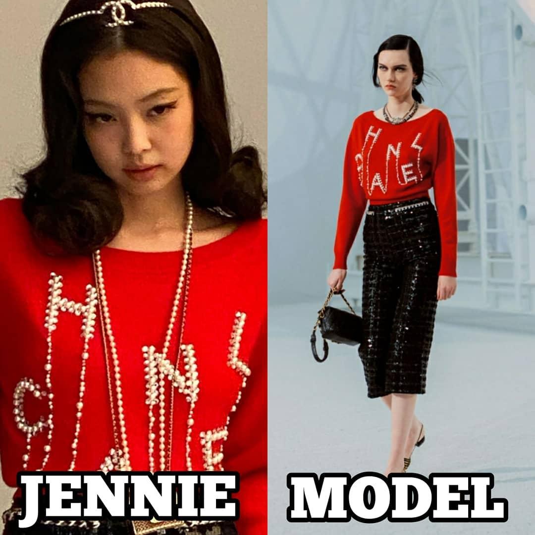 Diện đồ Chanel xuất sắc, Jennie rất được hãng cưng chiều.