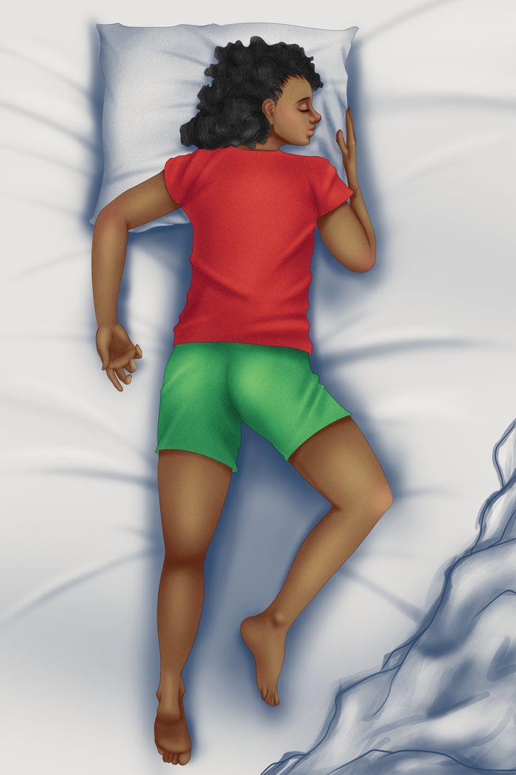 Tư thế ngủ có thể ảnh hưởng đến thu nhập của bạn