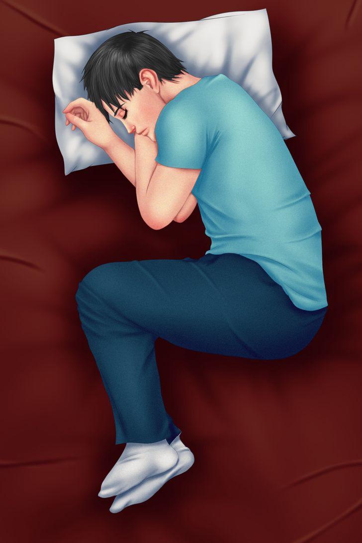 Tư thế ngủ có thể ảnh hưởng đến thu nhập của bạn - 2