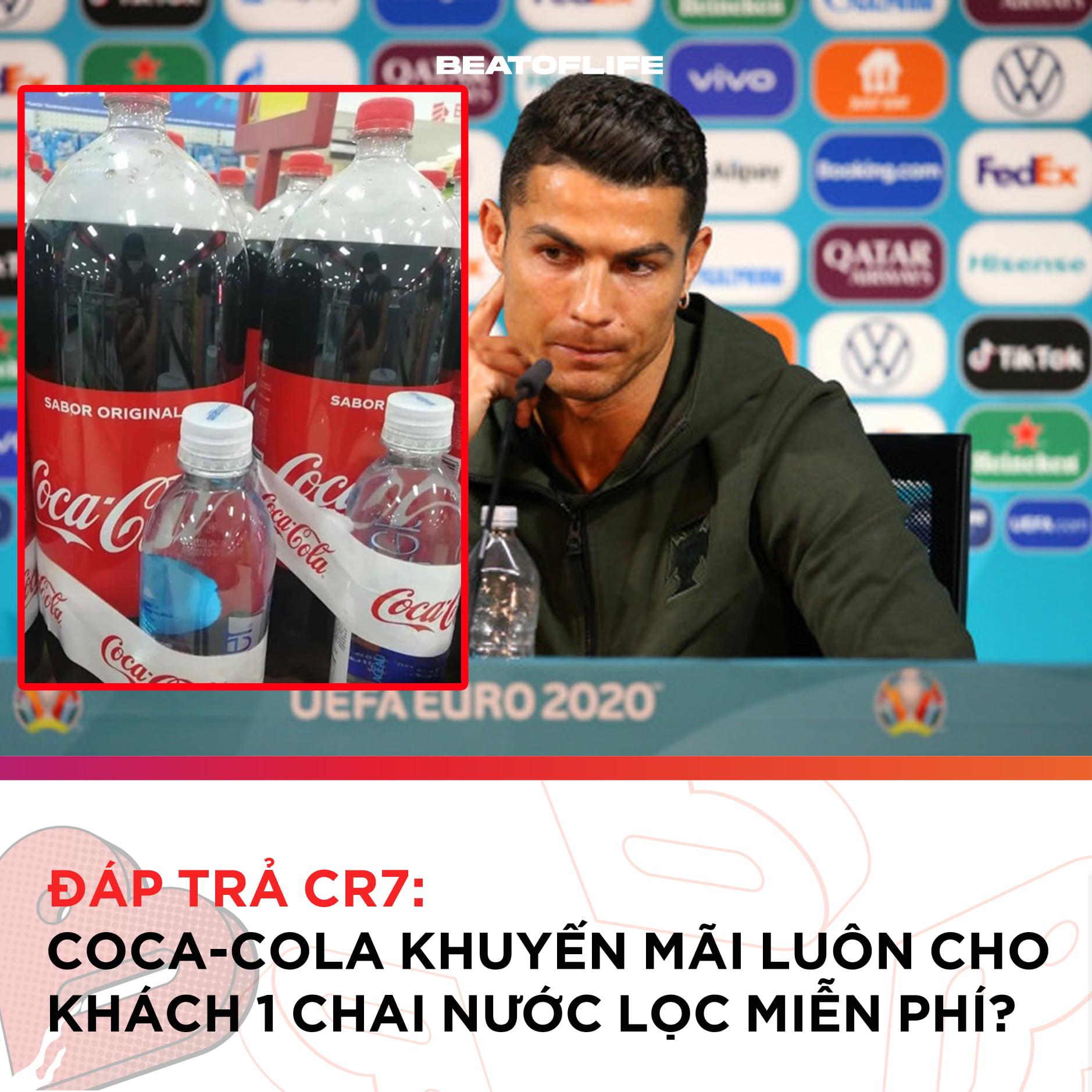 Coca to be continued: Tặng kèm chai nước lọc sau vụ Ronaldo - 1