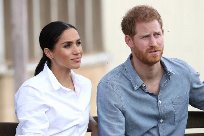 Vợ chồng Hoàng tử Harry và Meghan Markle.
