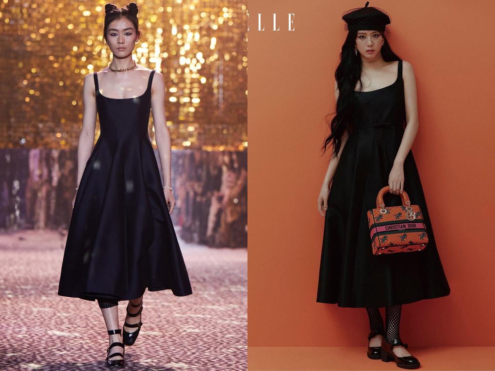 Nàng đại sứ khi diện đồ Dior cũng luôn có những cách mix&match khác biệt, tạo nên đẳng cấp riêng.