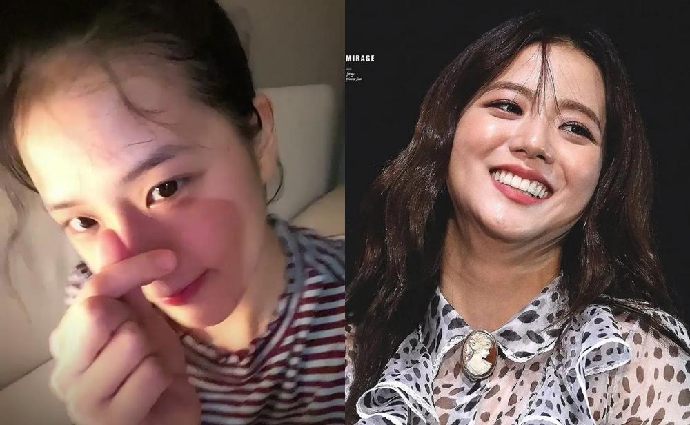 Mặt mộc của Ji Soo gây ngỡ ngàng vì trẻ đẹp hơn cả khi trang điểm - 4