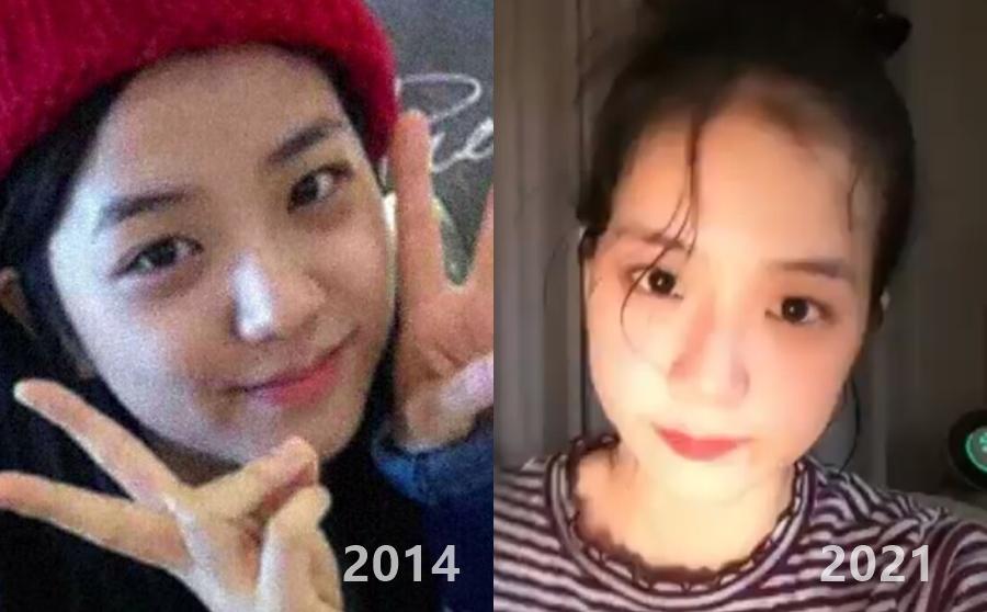 Mặt mộc của Ji Soo gây ngỡ ngàng vì trẻ đẹp hơn cả khi trang điểm - 5
