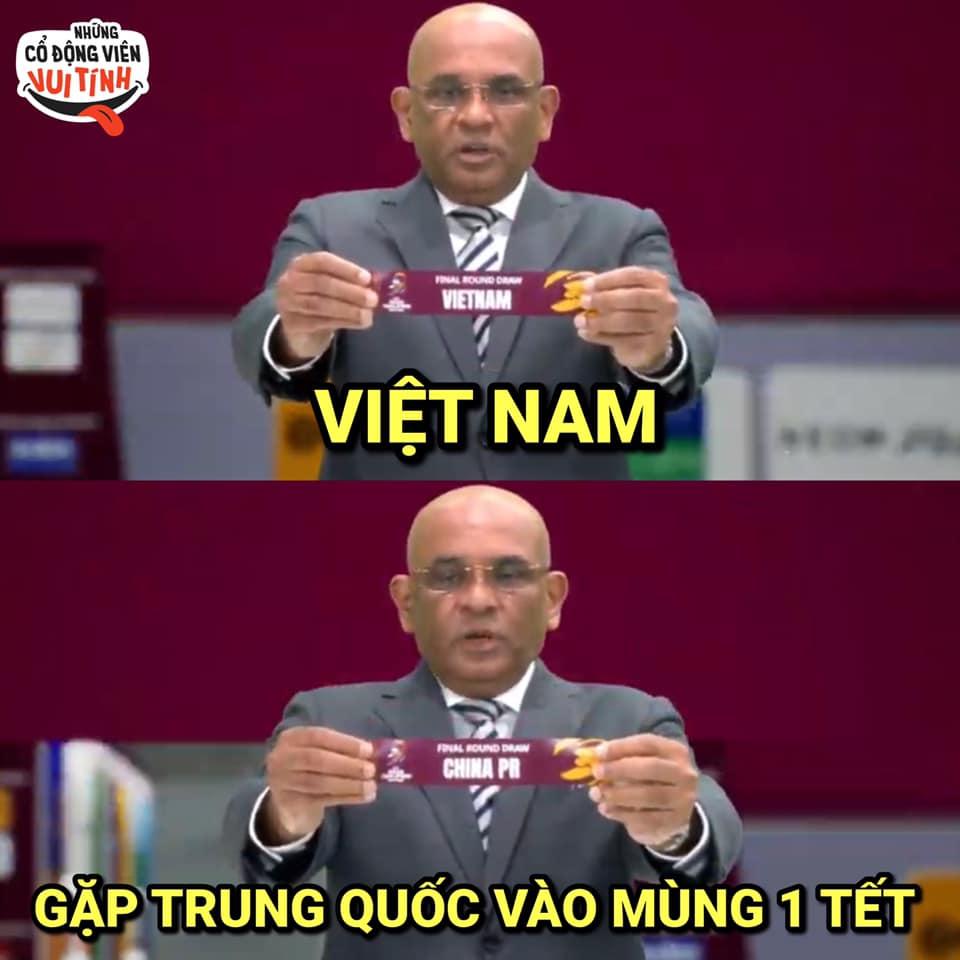 Ảnh chế Việt Nam gặp Trung Quốc đúng mùng 1 Tết
