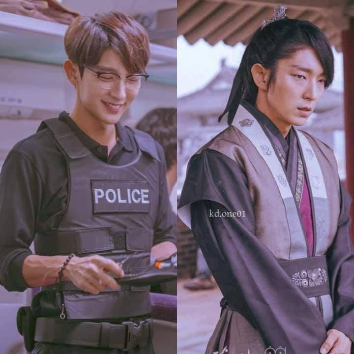 Park Seo Joon hợp với tạo hình cổ trang hay hiện đại? - 3