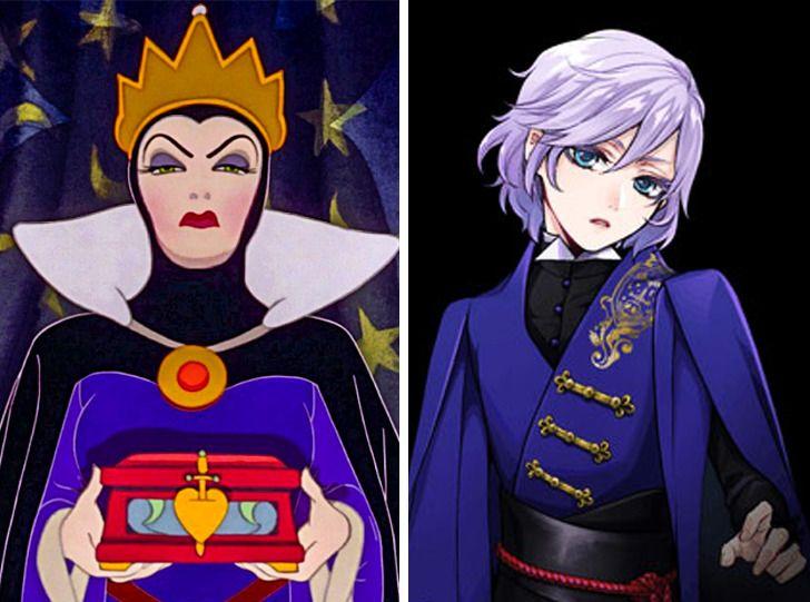 Nữ hoàng độc ác là người đẹp nhất trong tất cả.