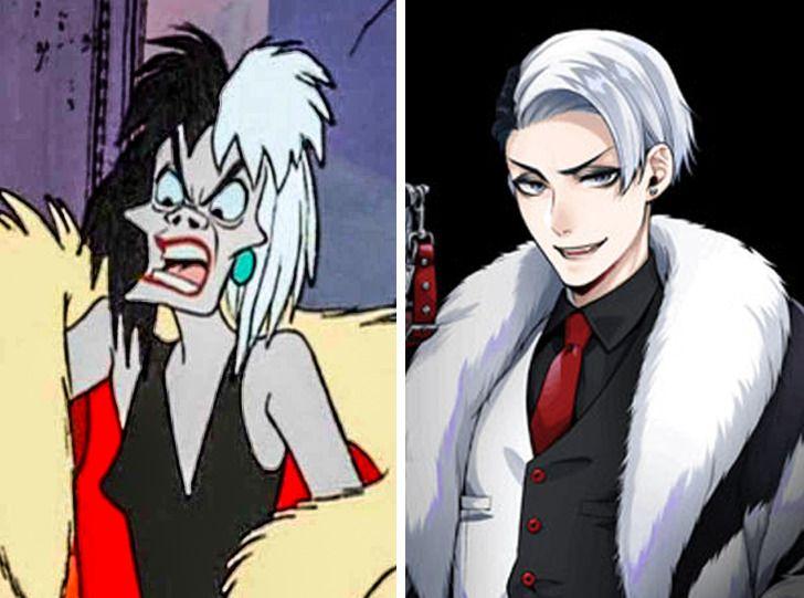 Một con người khác của Cruella de Vil.