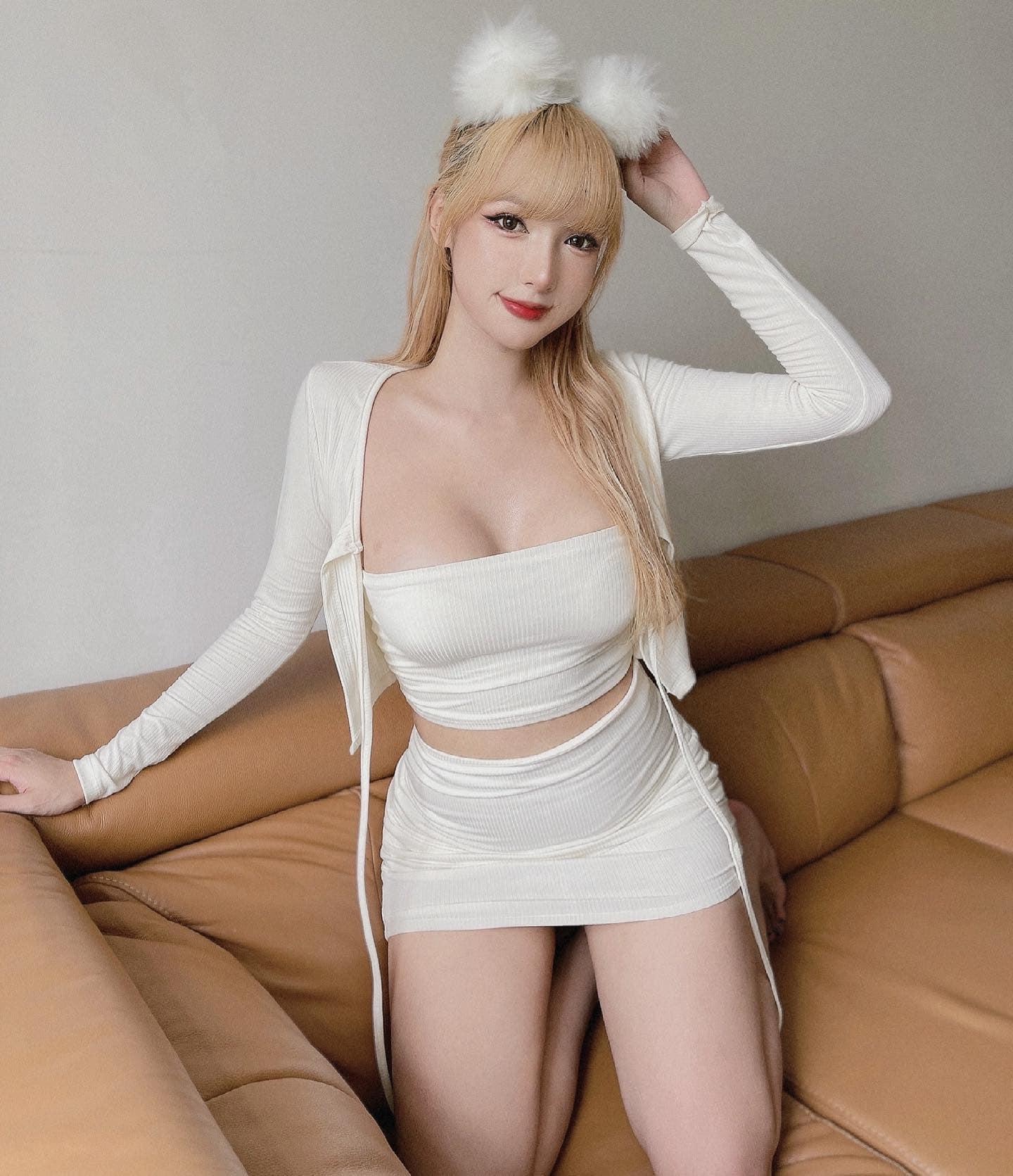 Thí sinh chuyển giới của Hoa hậu Hoàn vũ Việt Nam gây sốt với nhan sắc búp bê sống - page 2 - 7