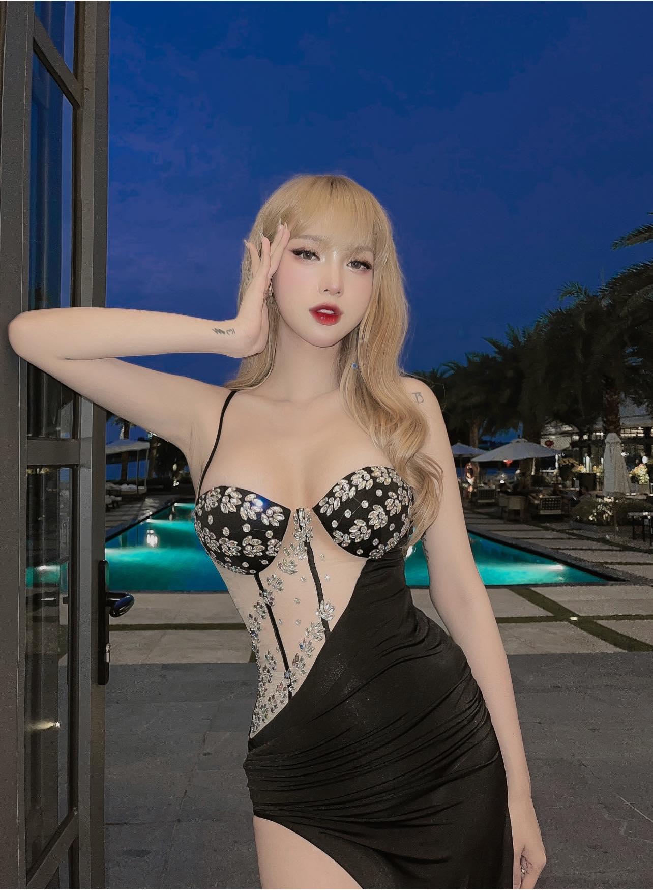 Thí sinh chuyển giới của Hoa hậu Hoàn vũ Việt Nam gây sốt với nhan sắc búp bê sống - page 2 - 3