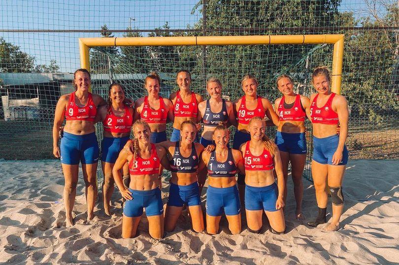 Đội tuyển bóng ném nữ của Na Uy vì mặc quần đùi thi đấu thay vì bikini như quy định.