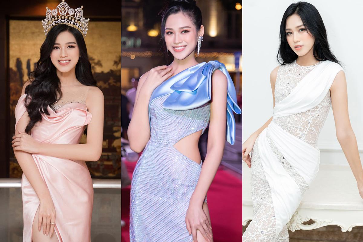 Trong những lần chọn váy áo có tông pastel, đặc biệt là những gam màu quen thuộc của Miss World như hồng nhạt, xanh hòa bình hay trắng, Đỗ Thị Hà thường bị chê kém nổi bật, dung mạo nhạt nhòa.