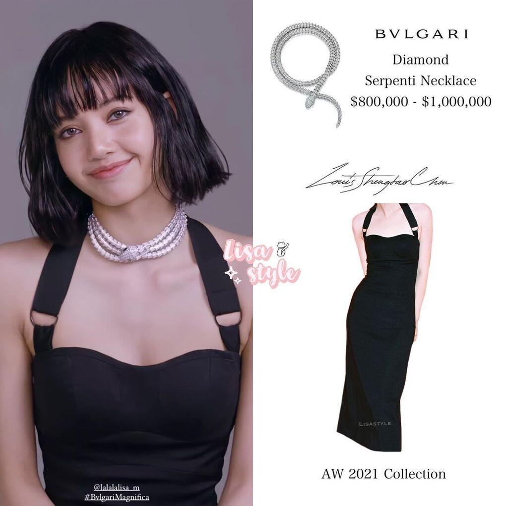 Trước đó, trong một buổi chụp hình cho Vogue để quảng bá Bvlgari, nàng đại sứ toàn cầu cũng gây xôn xao với diện mạo sexy, được tô điểm bằng chiếc vòng cổ kim cương có giá  800 nghìn đến 1 triệu USD (khoảng hơn 21 tỷ đồng).