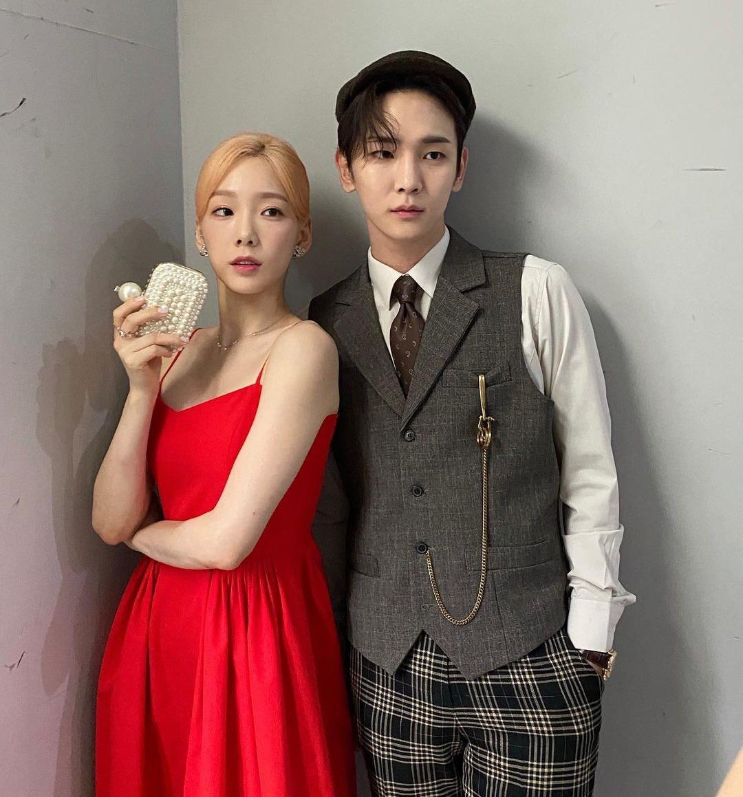 Tae Yeon và Key tạo thành bộ đôi cực chất với concept cổ điển.
