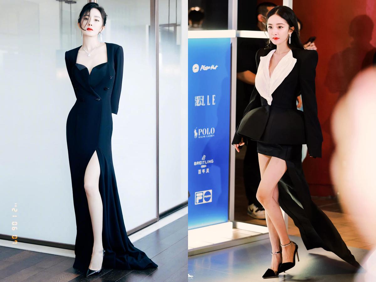 Gần đây, khi hợp tác với stylist mới, Dương Mịch cho thấy sự thăng hạng nhan sắc trên thảm đỏ, xứng tầm là ngôi sao hạng A.