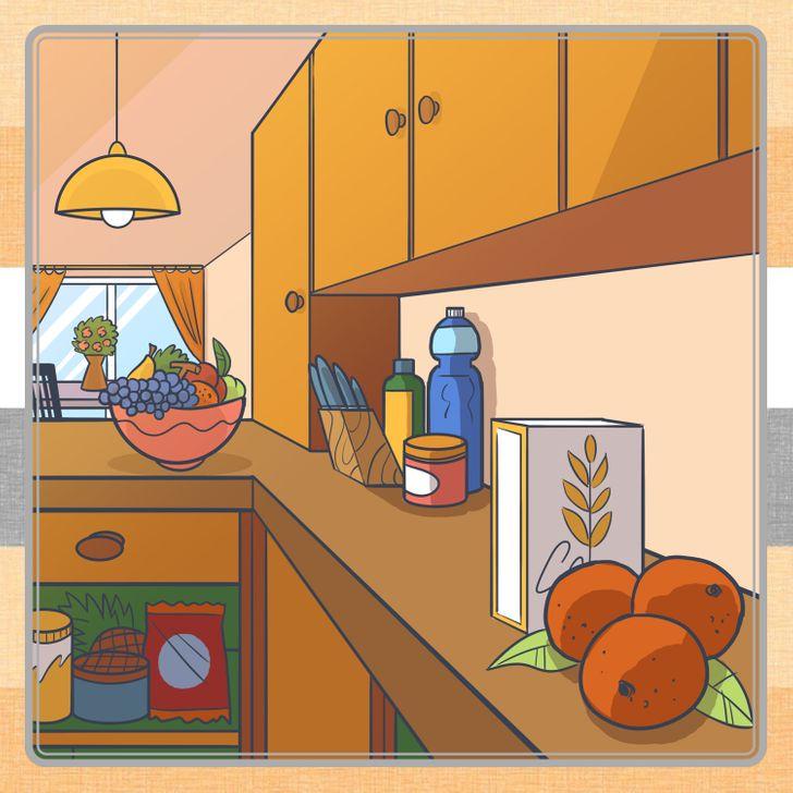 Đố vui: Tìm ra nơi ẩn chứa các đồ vật trong 8 bức tranh này - 2