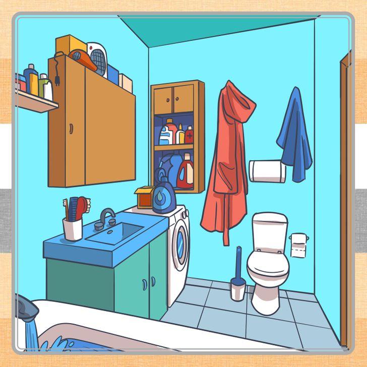 Đố vui: Tìm ra nơi ẩn chứa các đồ vật trong 8 bức tranh này - 6