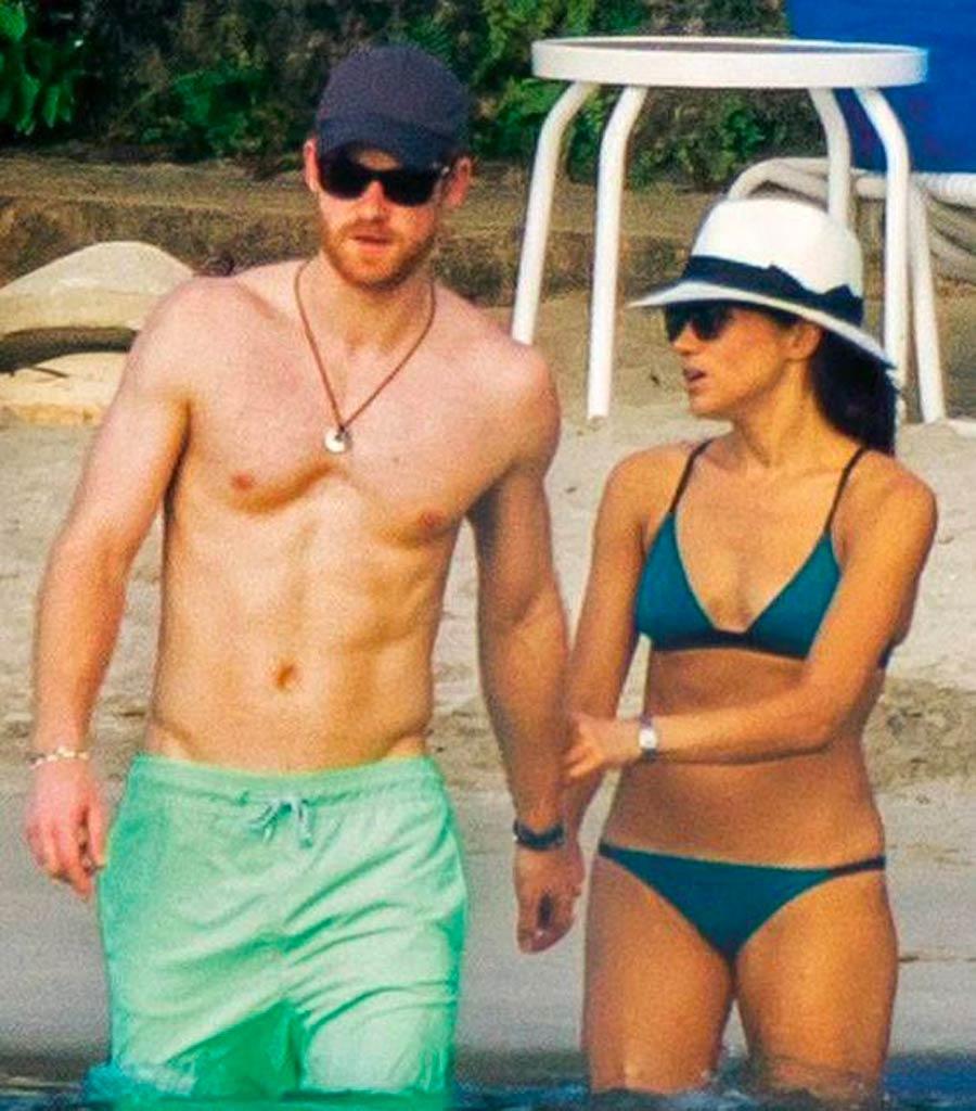 Trước khi gặp hoàng tử Harry, Meghan từng kết hôn với nam diễn viên kiêm nhà sản xuất Trevor Elgenson rồi ly hôn năm 2013. Ảnh: Sun