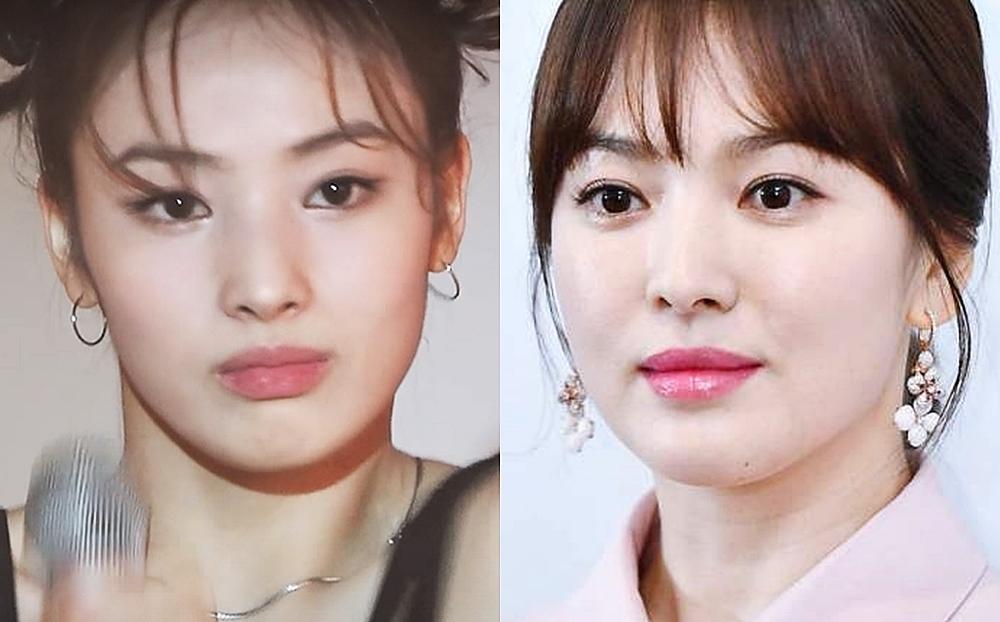 Gương mặt của Jinni gợi nhớ đến diễn viên Song Hye Kyo.