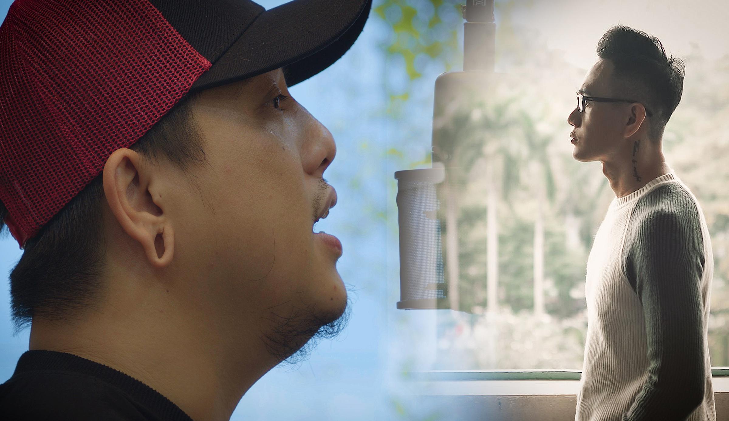 Đạo diễn Mr.Tô và nhạc sĩ - nhà báo Phạm Nhật Huy.