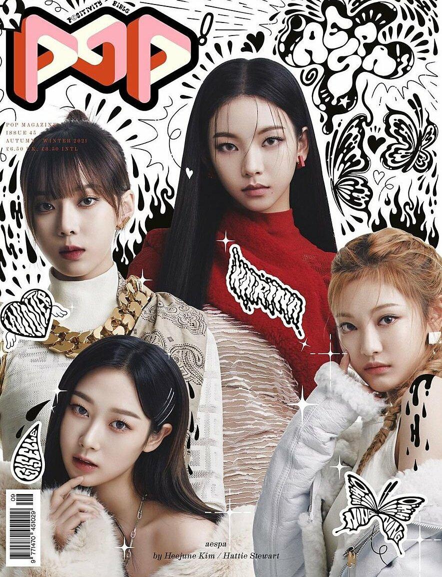 Trong ảnh bìa tạp chí Pop Magazine mới đây, Karina được khen là thành viên nổi bật nhất Aespa. Mặc dù vậy, vẫn có nhiều ý kiến cho rằng hình ảnh của mỹ nhân SM dường như ngày càng nhàm chán, thiếu sức hút.