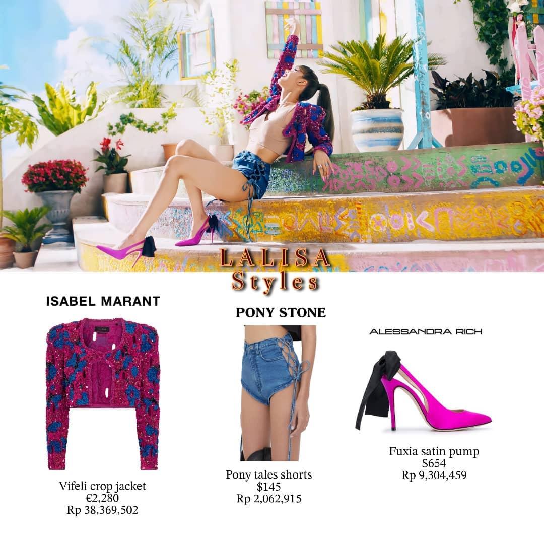 Dù đang là đại sứ toàn cầu của Celine, nữ idol không diện những thiết kế của nhà mốt trong MV này mà kết hợp hàng hiệu khá đa dạng.