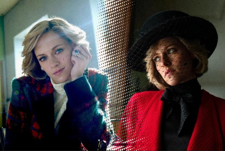Tạo hình của Kristen Stewart trong phim Spencer được khen giống Diana.