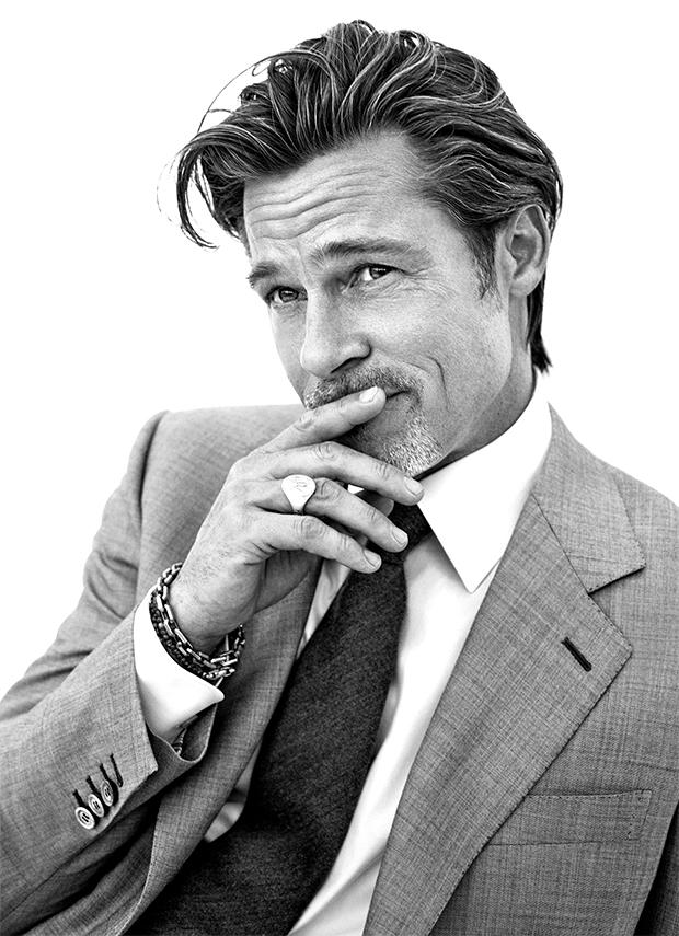 Vẻ ngoài lịch lãm ở tuổi 57 của Brad Pitt.