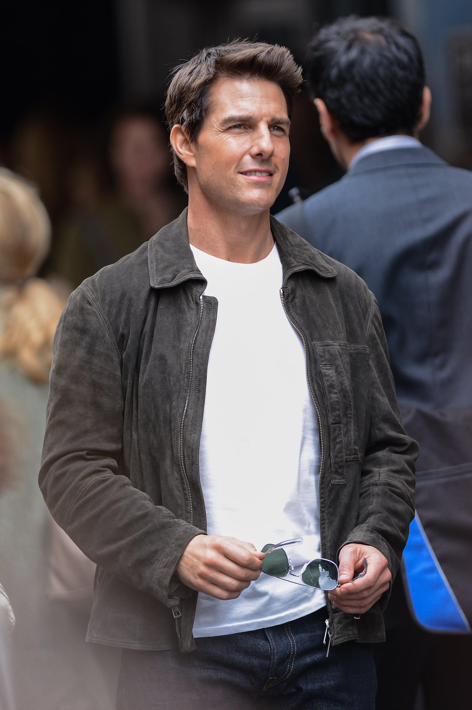 Nhan sắc điển trai không hề thay đổi theo thời gian của Tom Cruise.