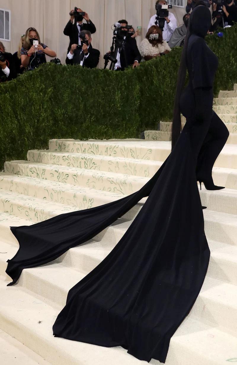 Kim Kardashian tại Met Gala 2021. Ảnh: Shutterstock.