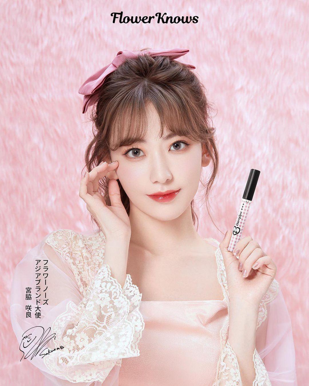 Việc ra mắt thương hiệu riêng đánh dấu một bước tiến mới của Sakura trong lĩnh vực mỹ phẩm. Dù còn là gương mặt khá mới, mỹ nhân IZONE đã liên tiếp được mời làm đại sứ, gương mặt đại diện cho các dòng sản phẩm làm đẹp. Asian Brand Ambassador of makeup brand Flower Knows