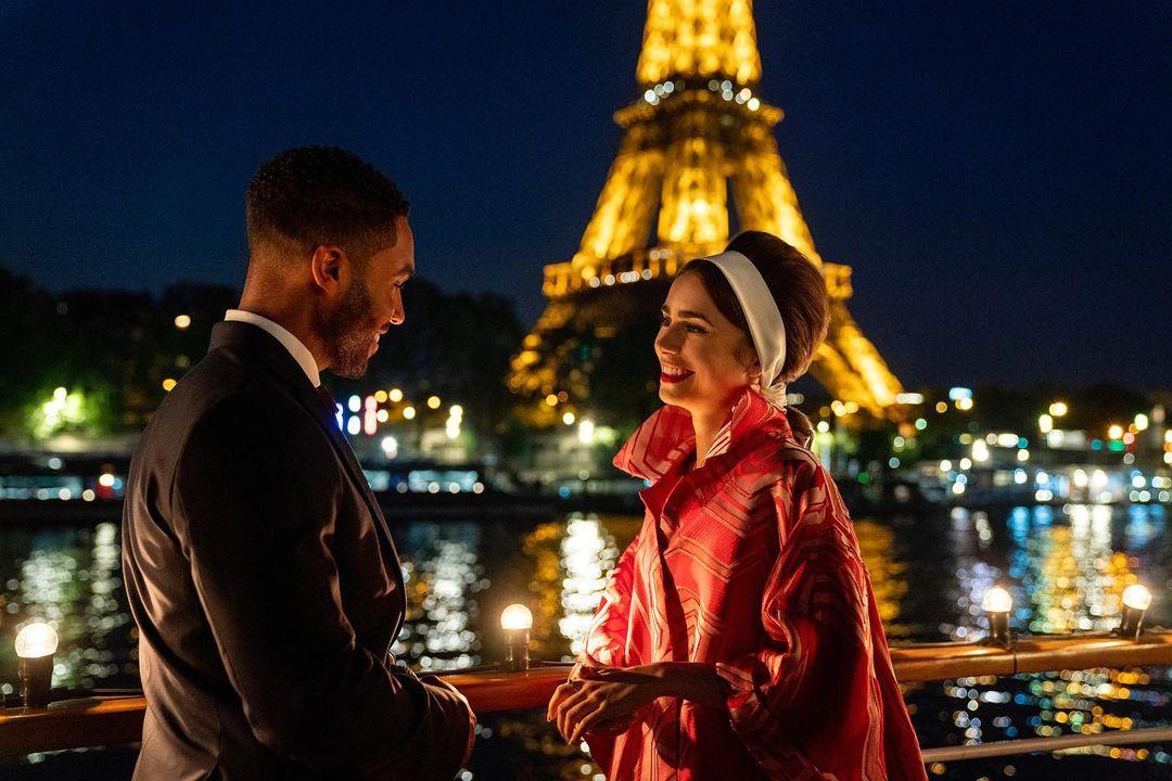 Lily Collins hé lộ những bộ cánh cực phẩm đầu tiên trong Emily in Paris 2 - 3