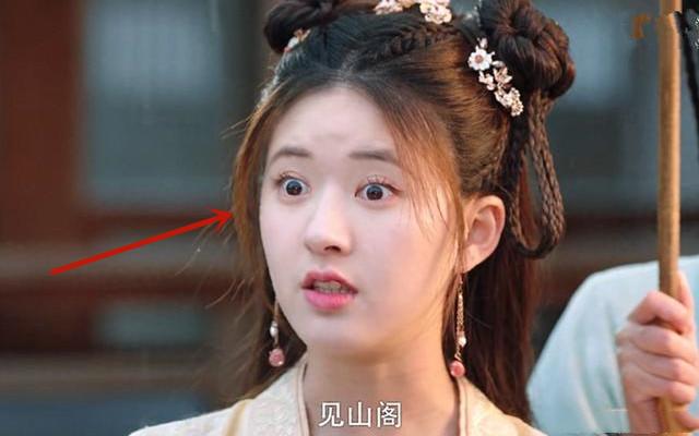 Diễn xuất trợn mắt gây hoảng hồn của nữ diễn viên.