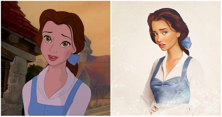 Người đẹp Belle.