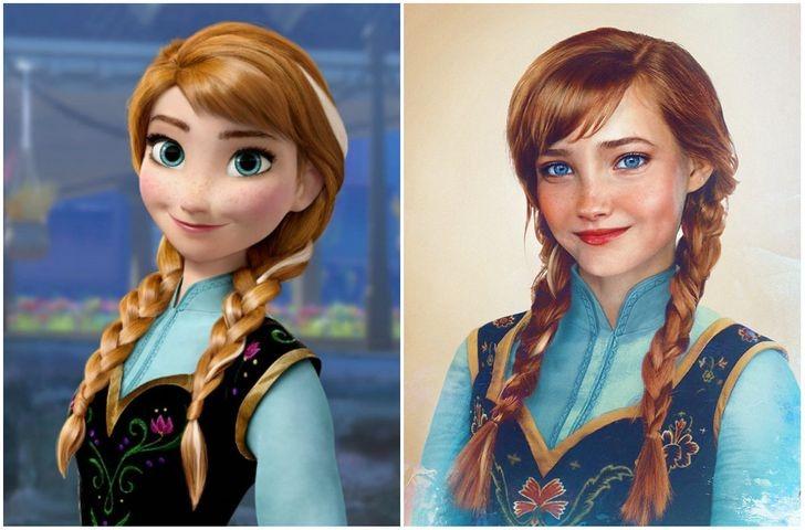Anna, em gái của nữ hoàng băng giá.