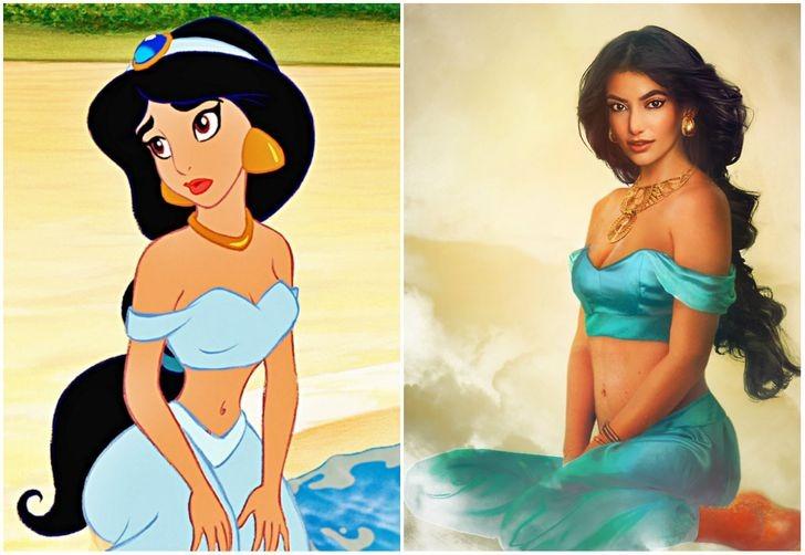 Jasmine của Aladdin.